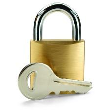 Vorhängeschloss und Schlüssel 01